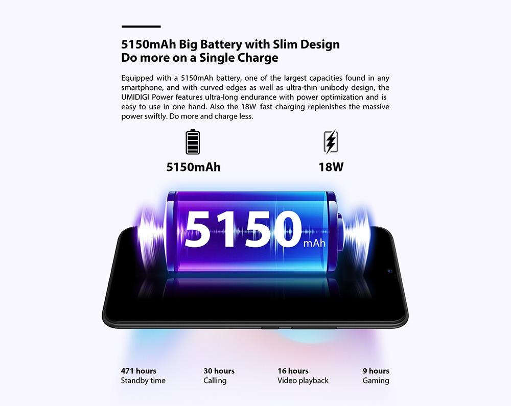 umidigi power smartphone global version 2019
