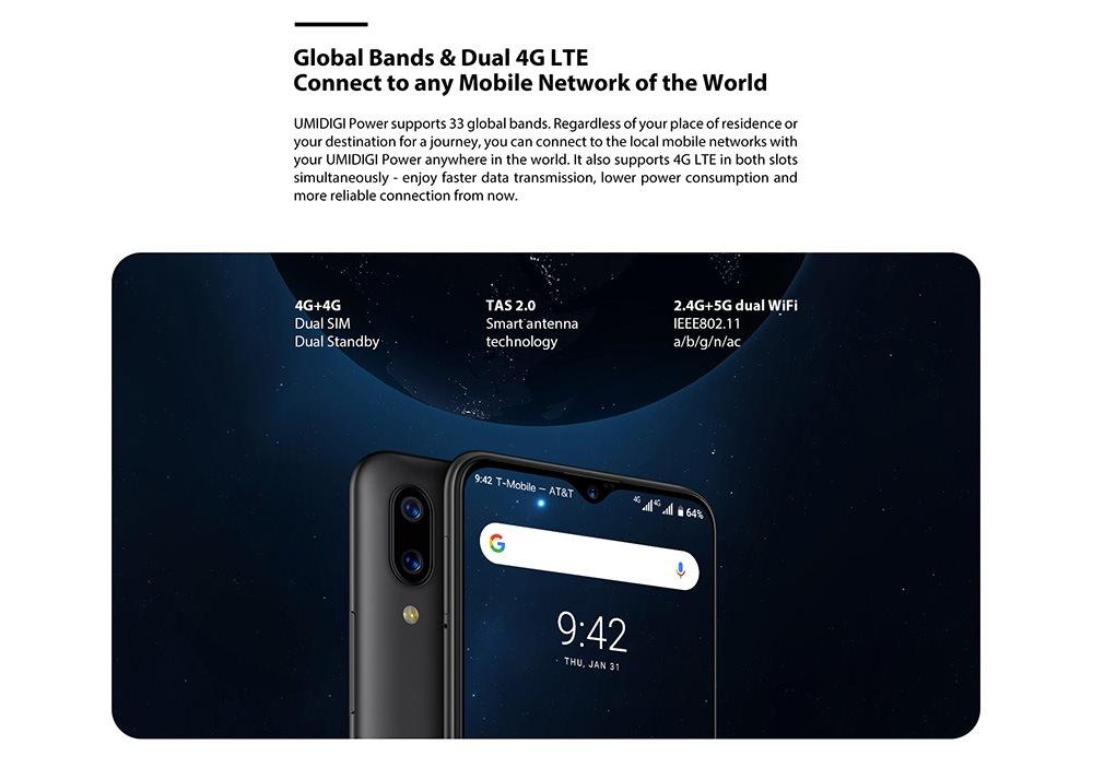 new umidigi power smartphone 64gb global version