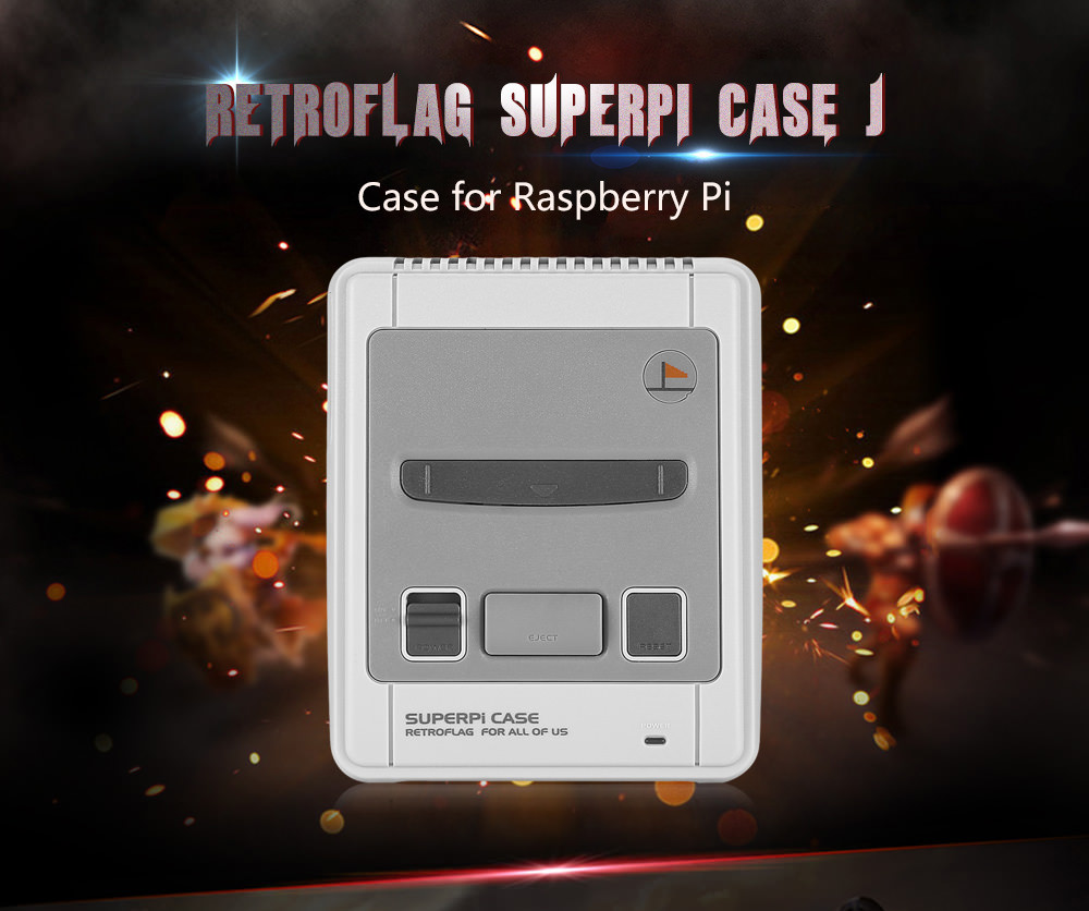 retroflag superpi case-j case