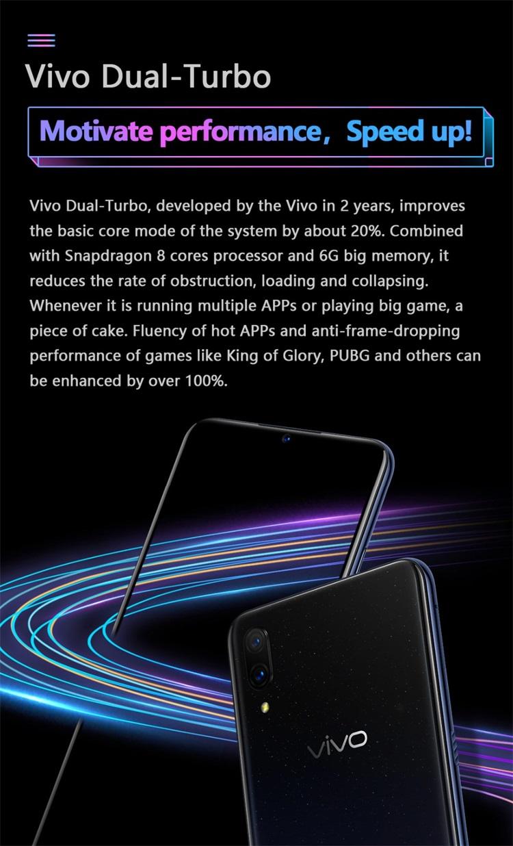 vivo x23 fantasy 6gb/128gb smartphone