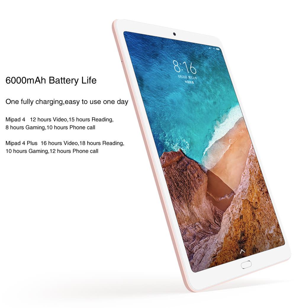 xiaomi mi pad 4 plus 4g tablet 128gb