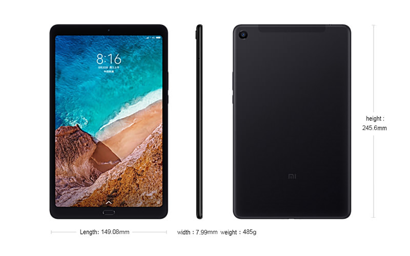 xiaomi mi pad 4 plus tablet online