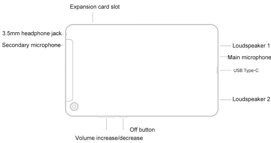 xiaomi mi pad 4 plus tablet 4gb/128gb