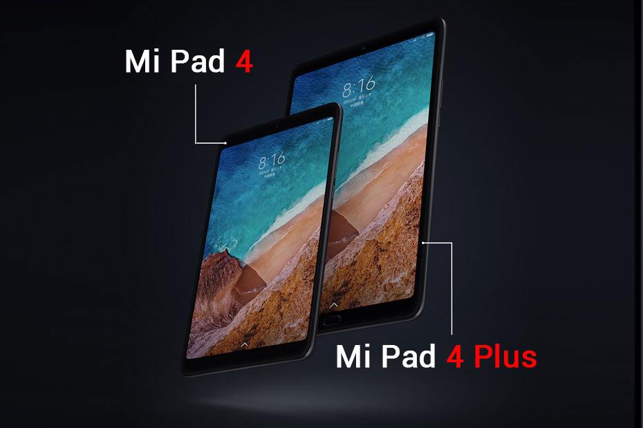 xiaomi mi pad 4 plus 4g lte tablet