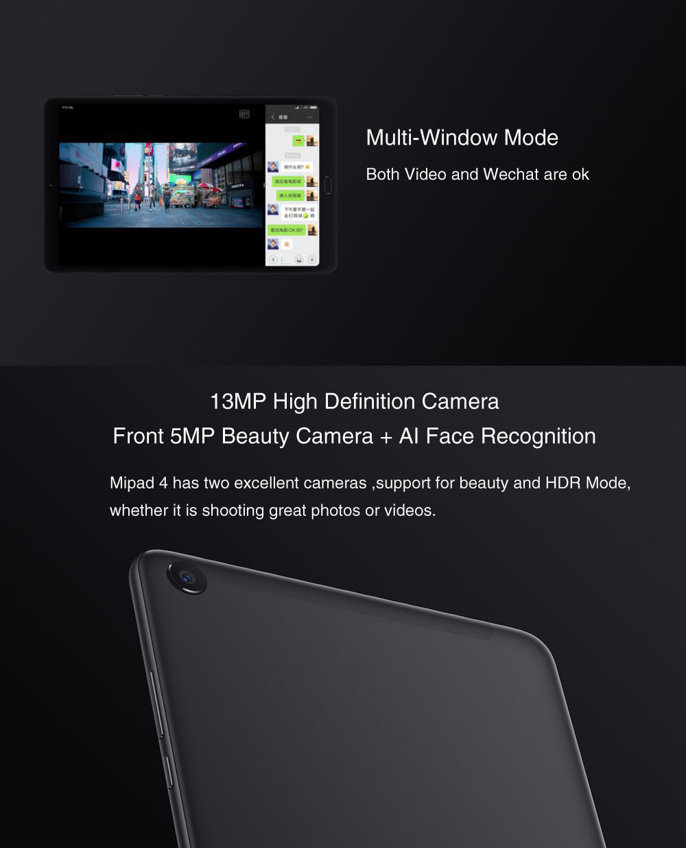 xiaomi mi pad 4 plus tablet