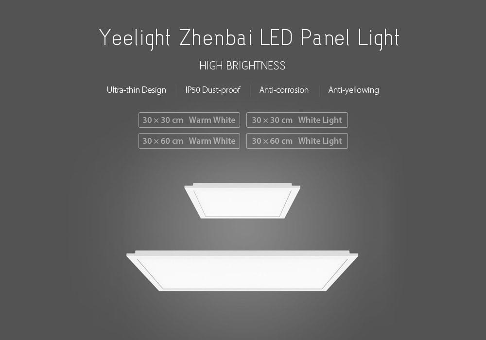 xiaomi yeelight ultra thin led ceiling panel light