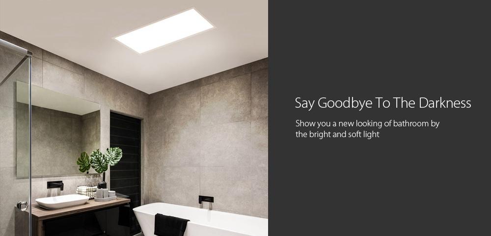 2019 xiaomi yeelight ultra thin led ceiling panel light