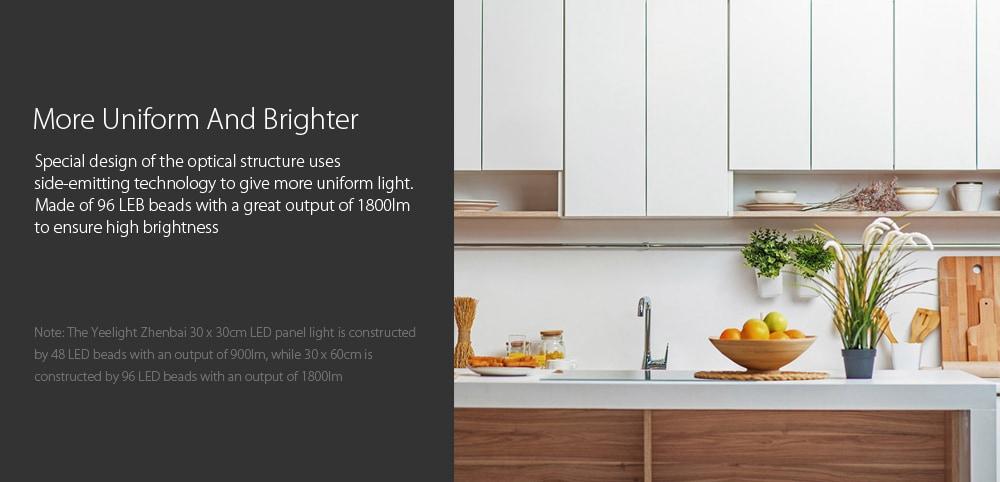 new xiaomi yeelight ultra thin led ceiling panel light