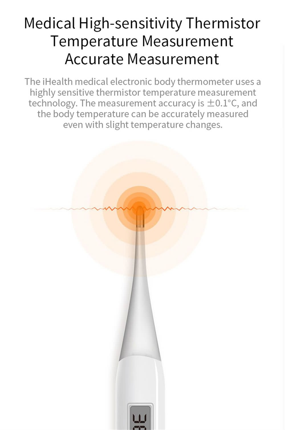 xiaomi ihealth pt-101b thermometer online