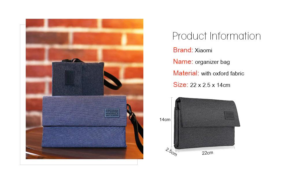 buy xiaomi electronics accessories organizer bag