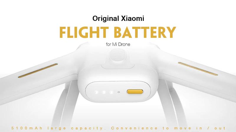 xiaomi dc01fm mi drone 5100mah battery