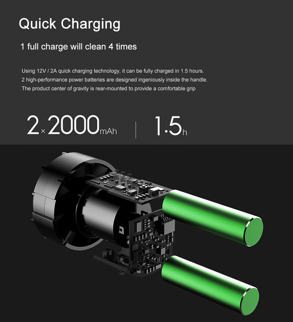 xiaomi cleanfly fvq handheld car vacuum cleaner