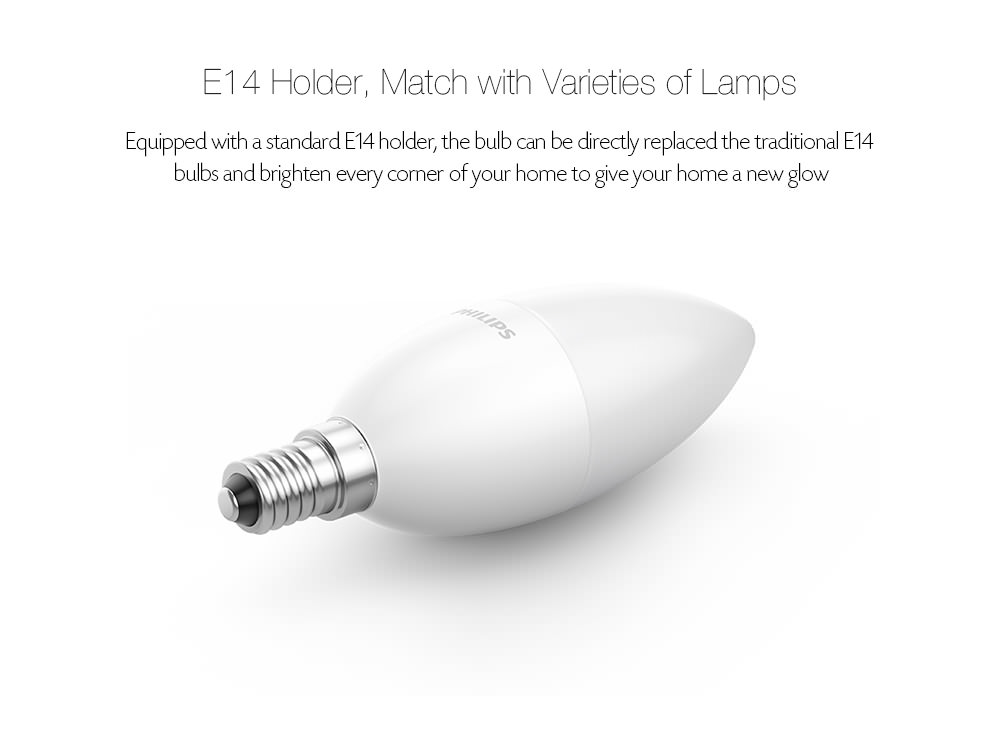 xiaomi philips e14 led bulb