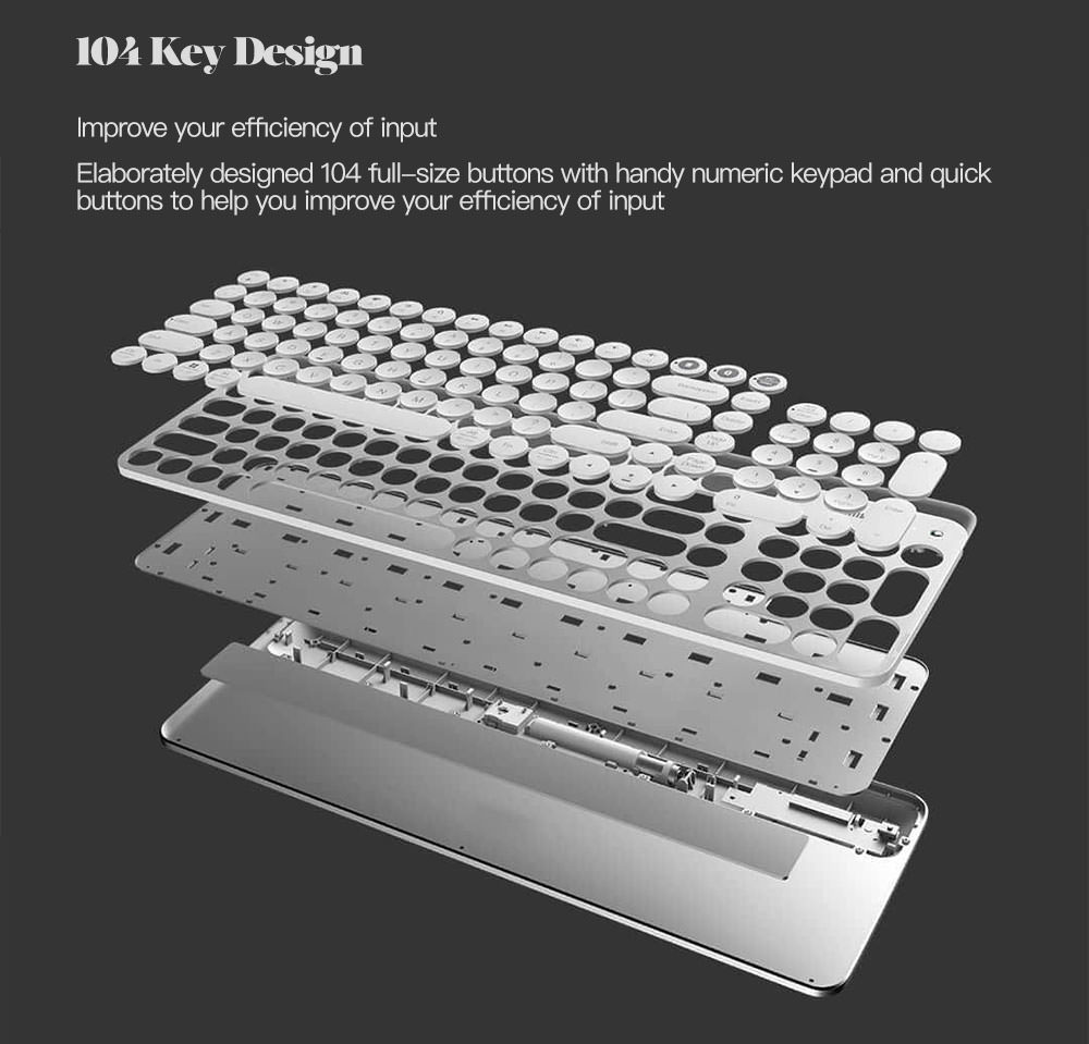 cheap xiaomi miiiw mwbk01 keyboard