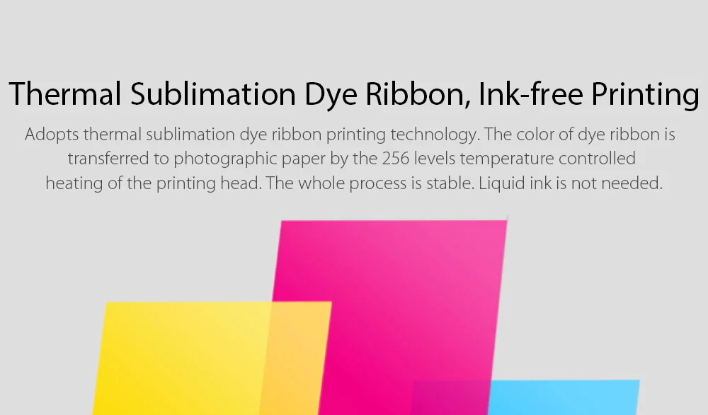 xiaomi mijia photo paper ink ribbon set online