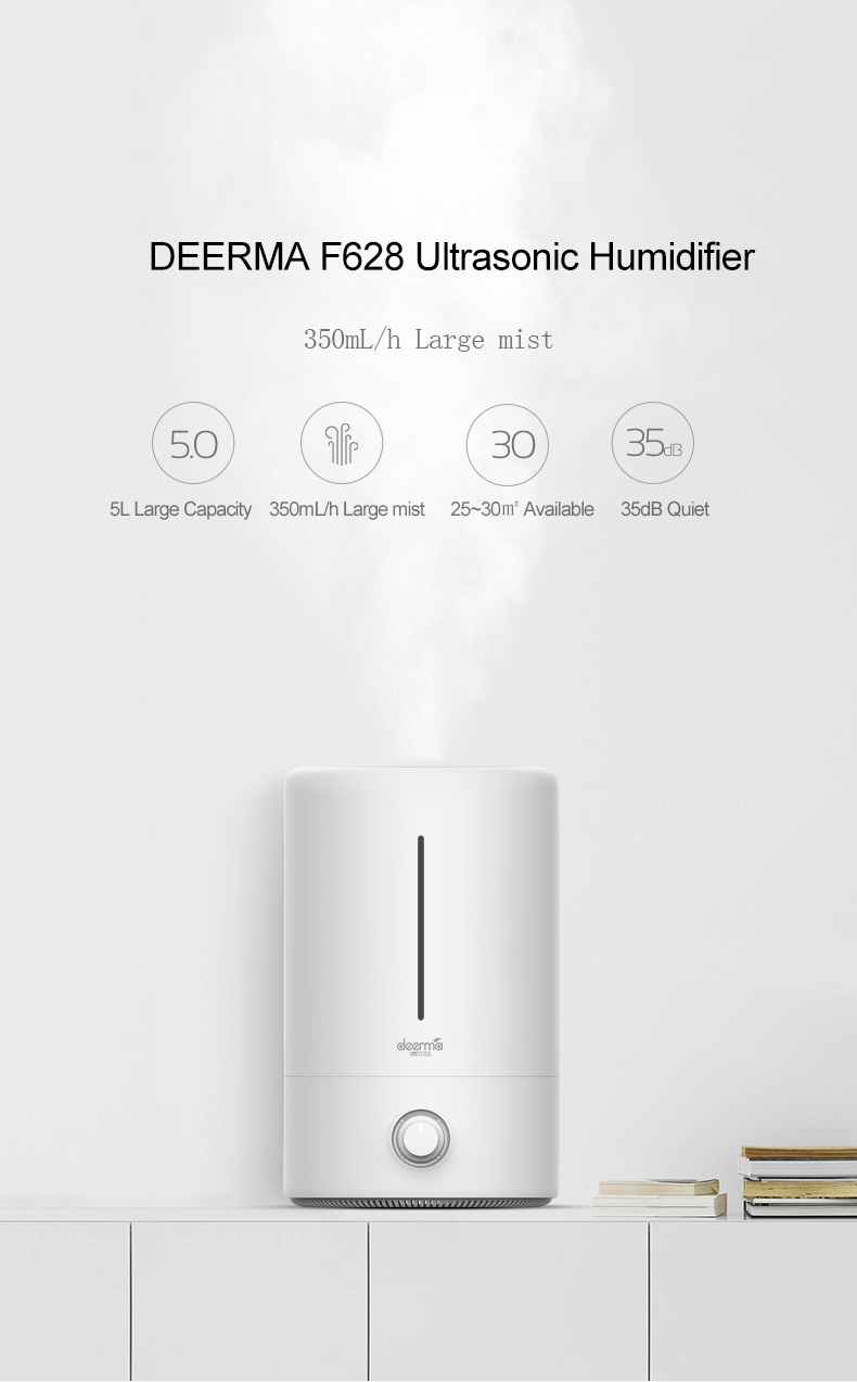xiaomi deerma 5l household air humidifier