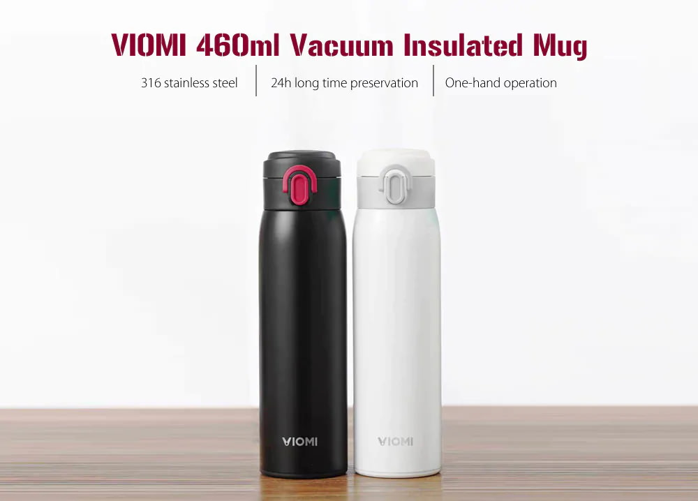xiaomi viomi 460ml vacuum insulated mug