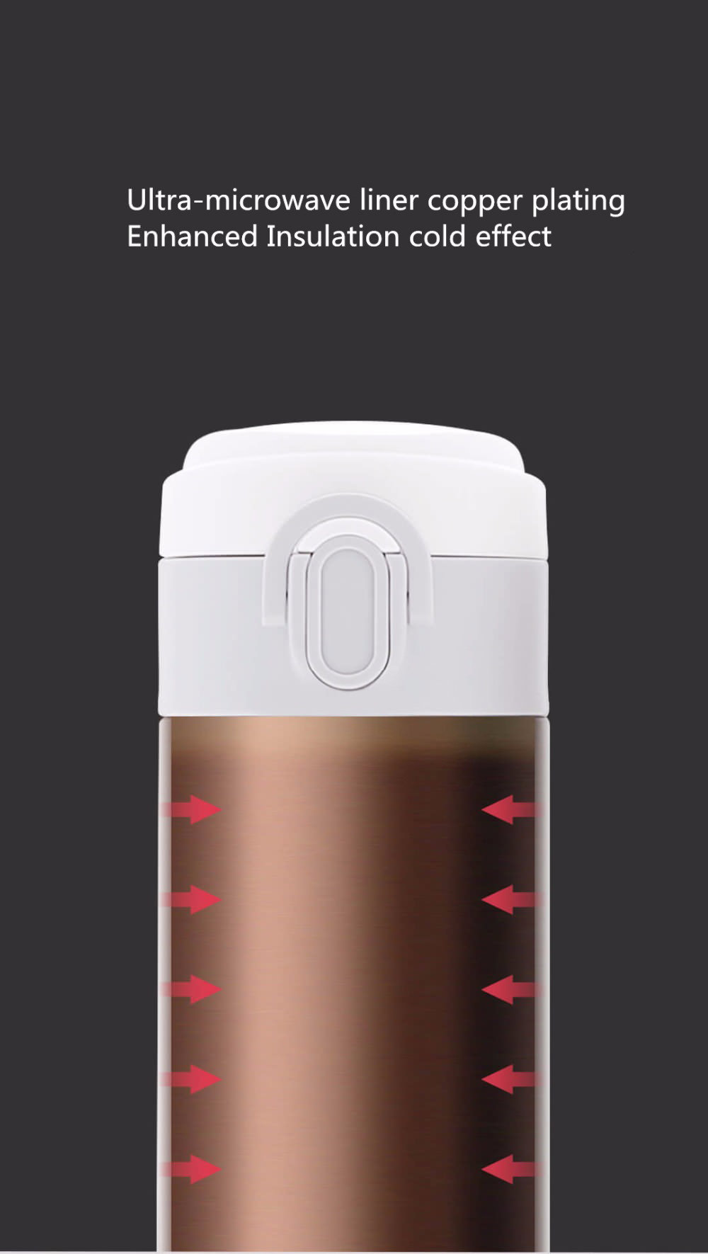 viomi 460ml vacuum insulated mug