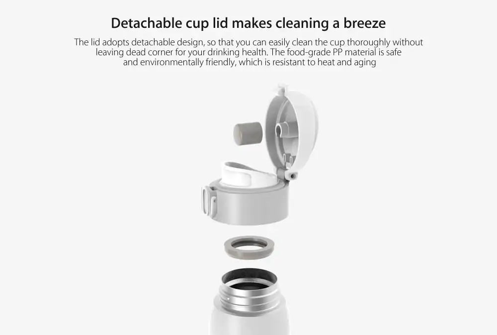 cheap xiaomi viomi 460ml thermos cup