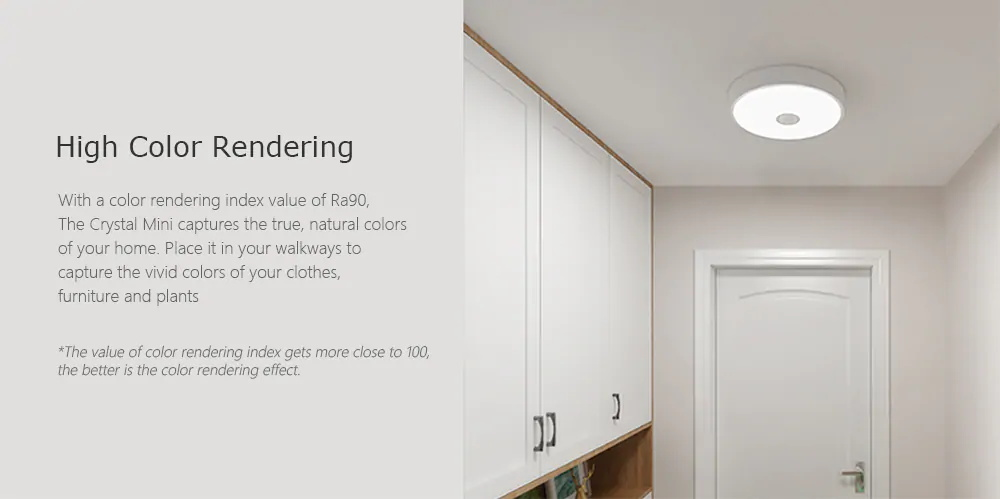 xiaomi yeelight ylxd09yl induction ceiling light