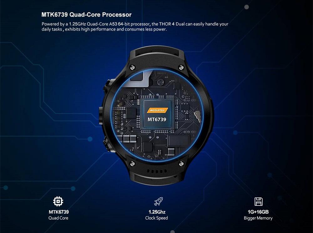 zeblaze thor 4 dual 4g smartwatch price