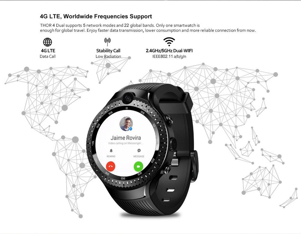 zeblaze thor 4 dual smartwatch online