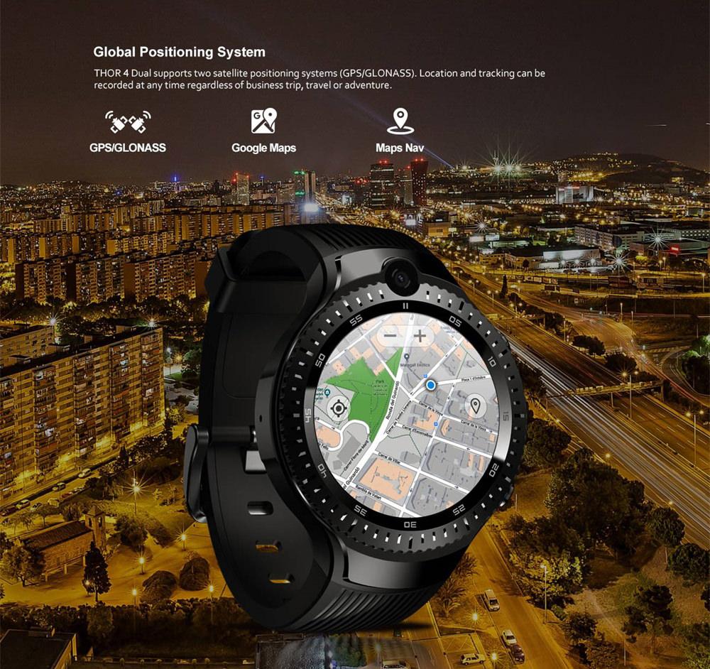 zeblaze thor 4 dual smartwatch