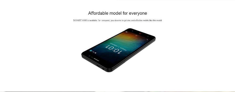 doogee X100 smartphone global version for sale 2019