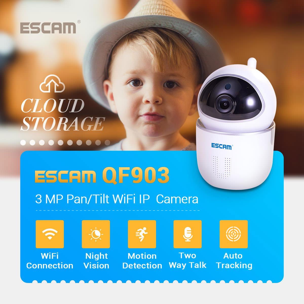 escam qf903 wireless ip camera