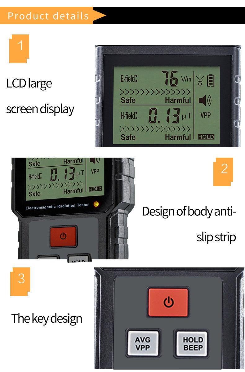 buy et825 gas detection radiation tester