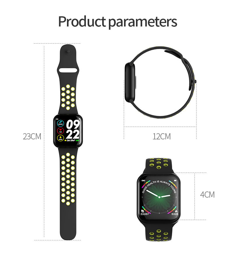 new f8 smart watch ip67 waterproof for sale