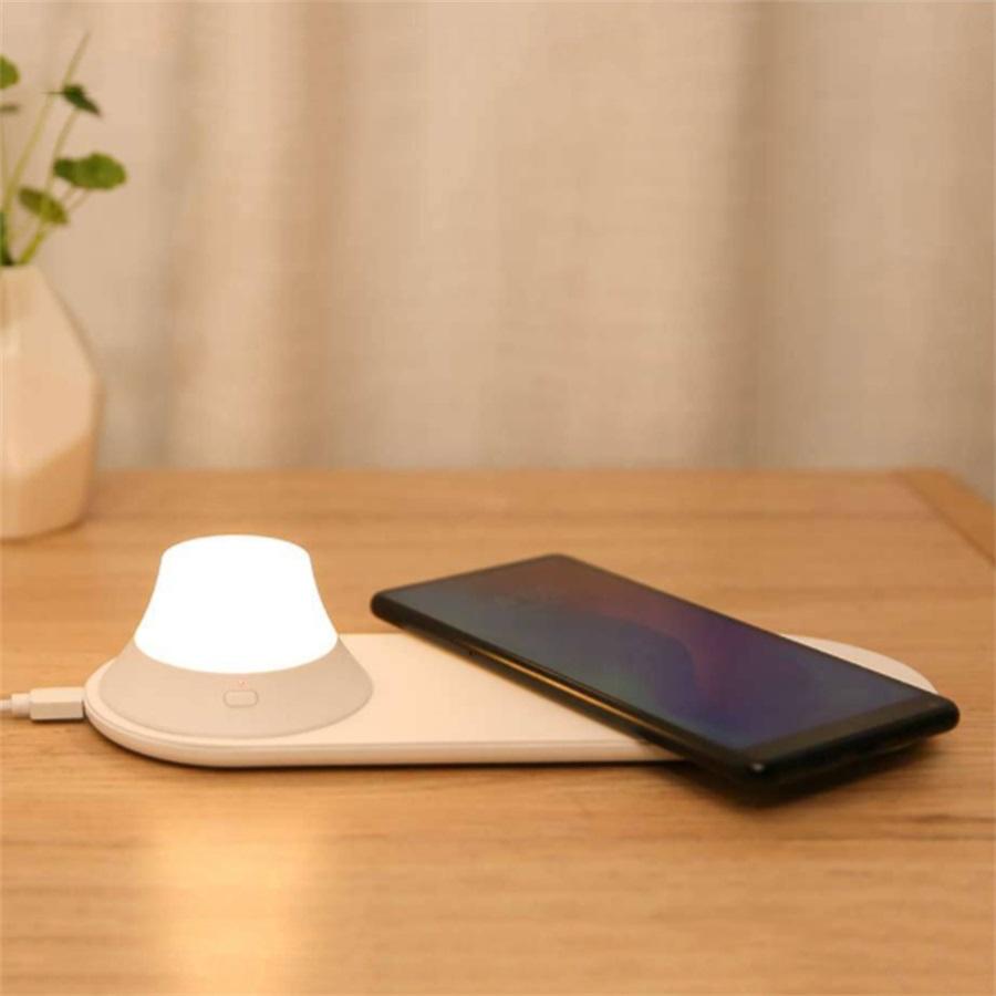 buy xiaomi yeelight wireless charging night lamp