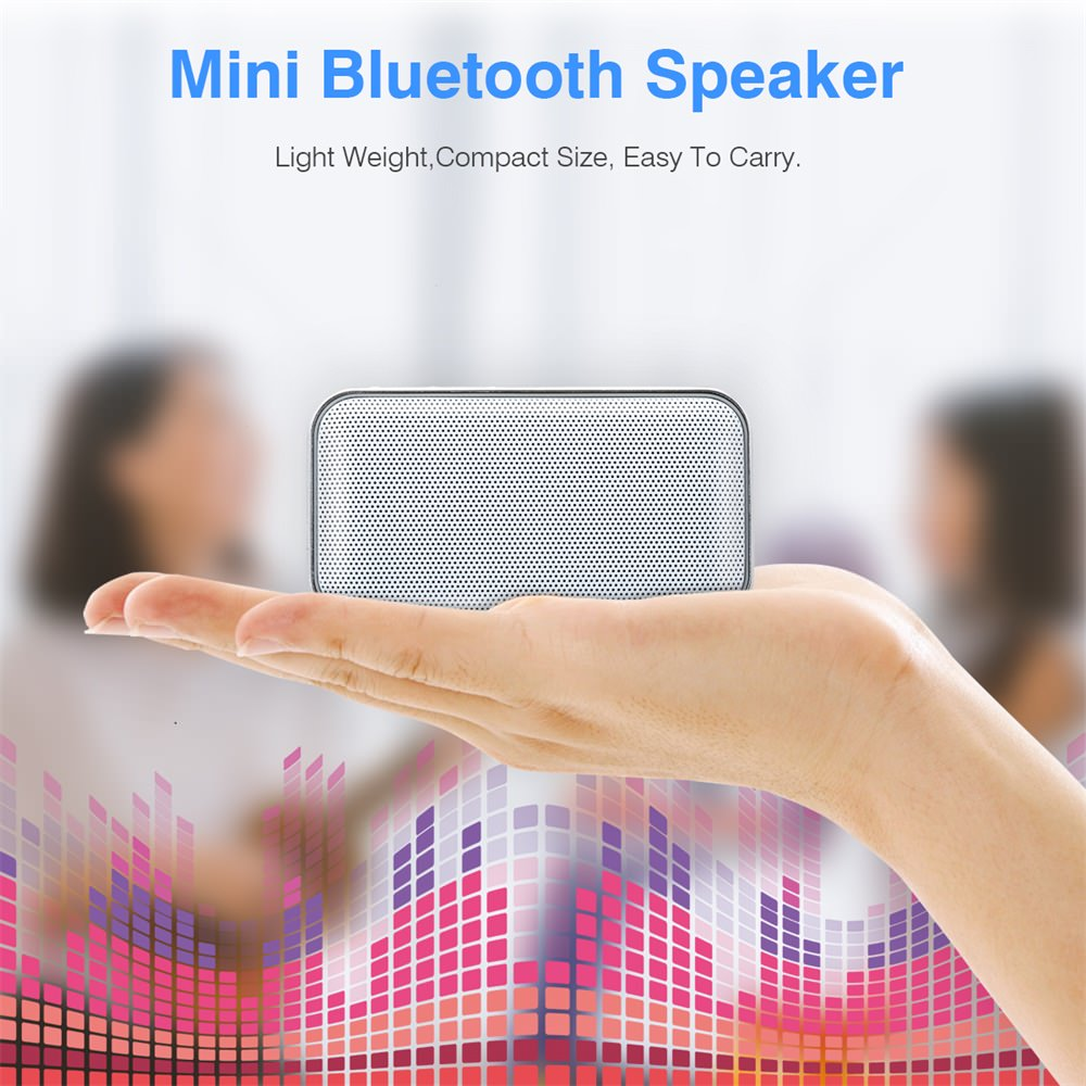 new aec bt-209 wireless bluetooth speaker