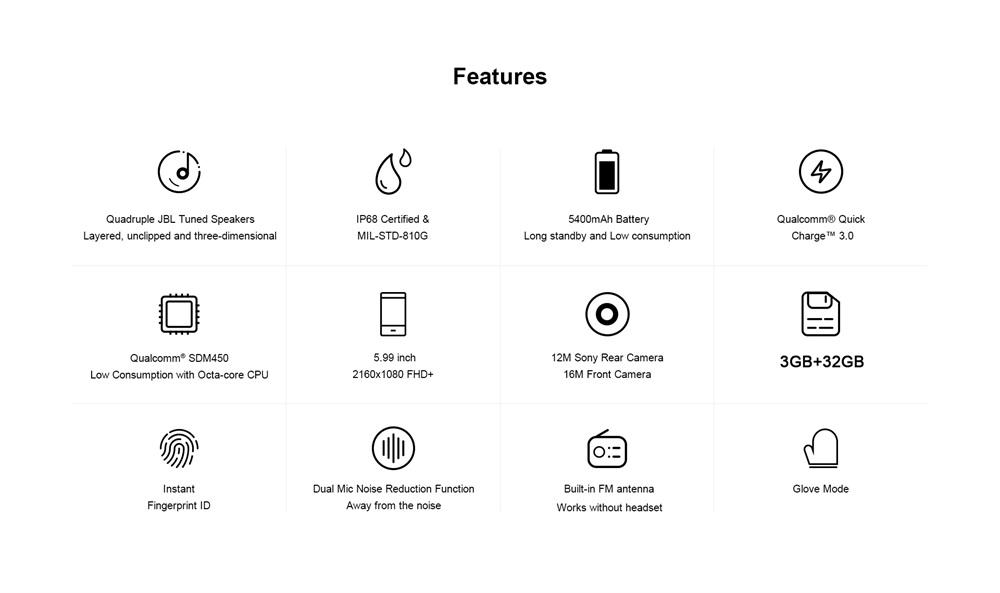 buy agm a9 4g smartphone 32gb
