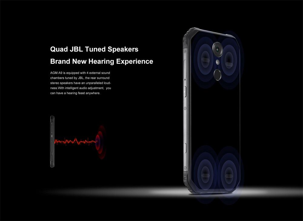 2019 agm a9 4g smartphone 64gb