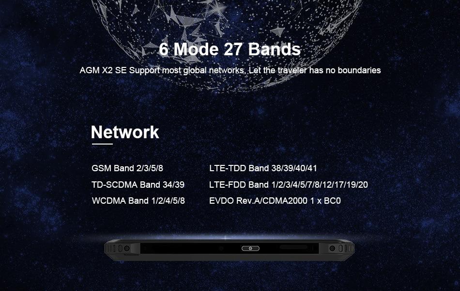 2019 agm x2 se smartphone 64gb