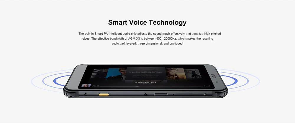 2019 agm x3 smartphone 128gb