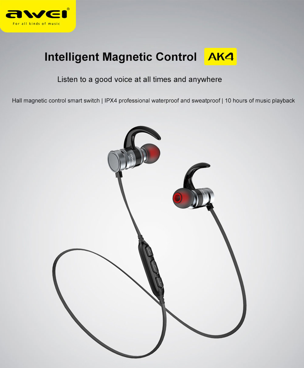 awei ak4 bluetooth earphones