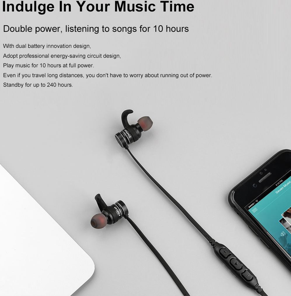 awei ak4 bluetooth earphones for sale