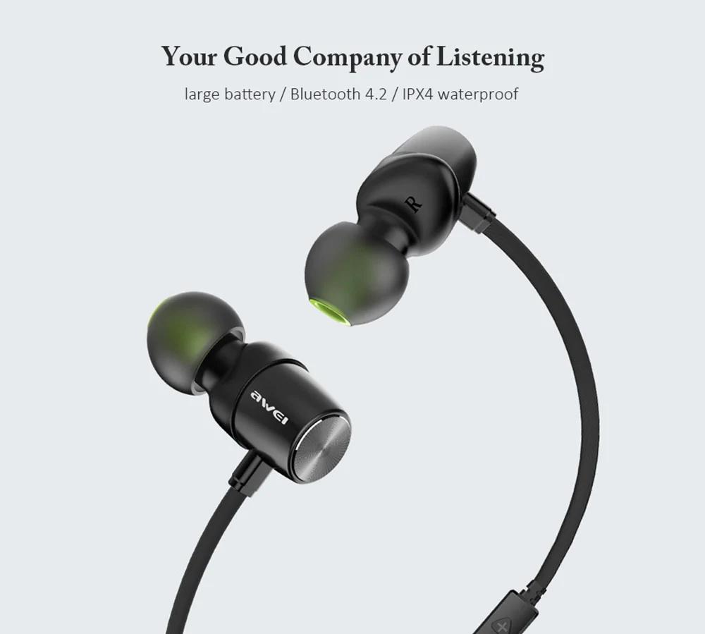 awei wt30 wireless bluetooth earphone