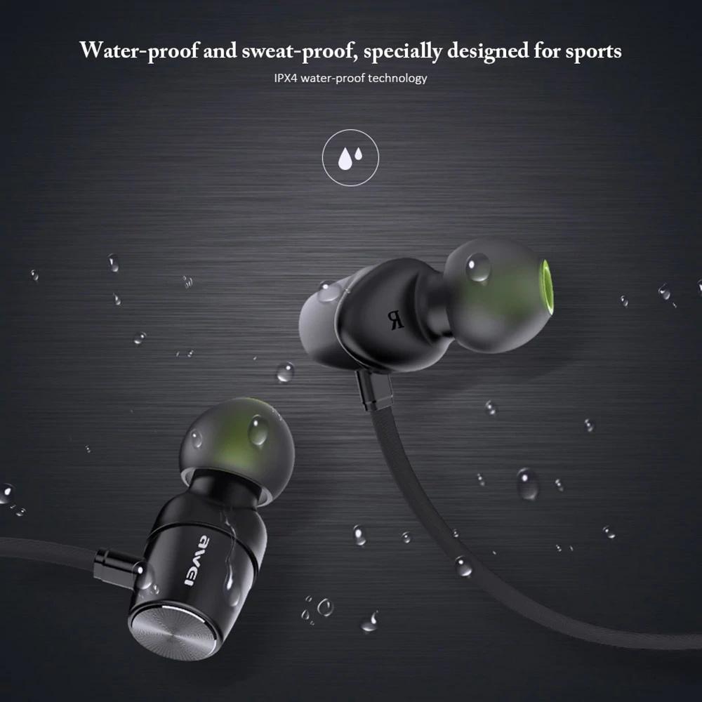awei wt30 bluetooth sports earphone