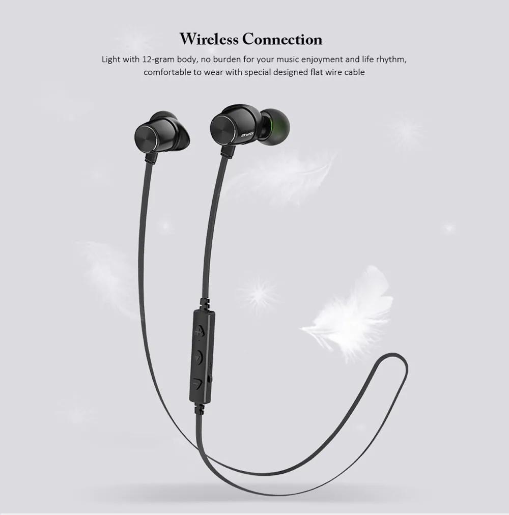 wt30 magnetic sports earphone