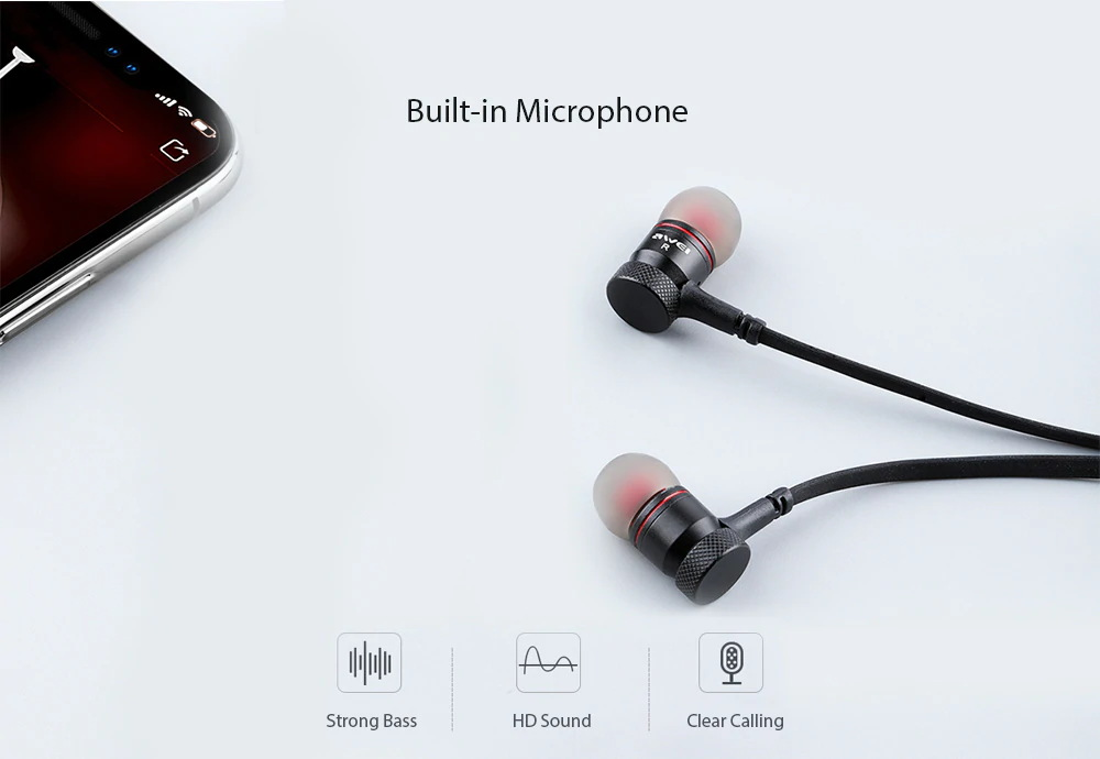 awei g10bl bluetooth earphones for sale
