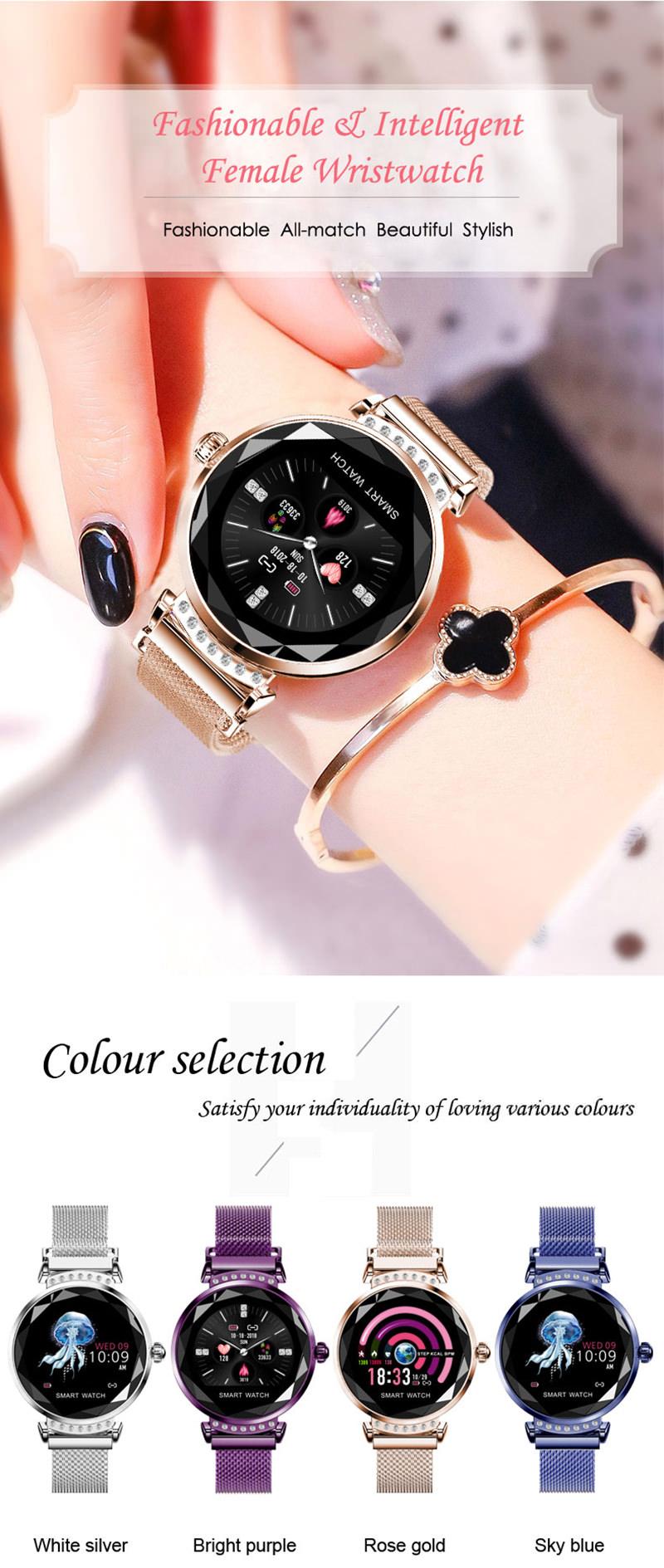 lemfo h2 women smartwatch