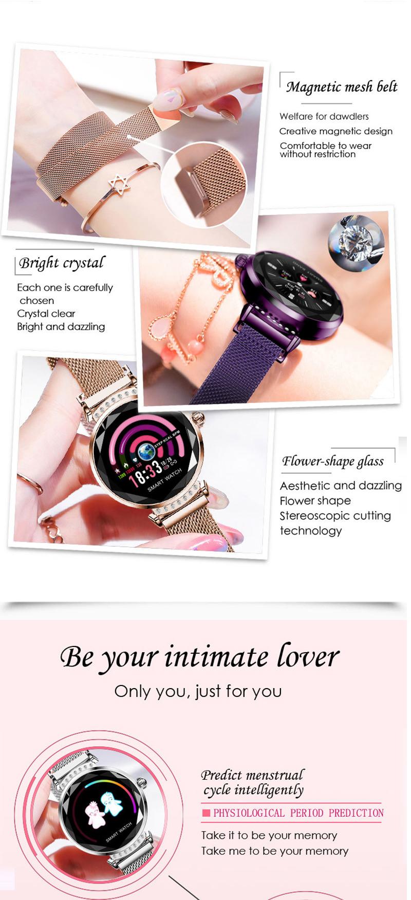 lemfo h2 women smartwatch price