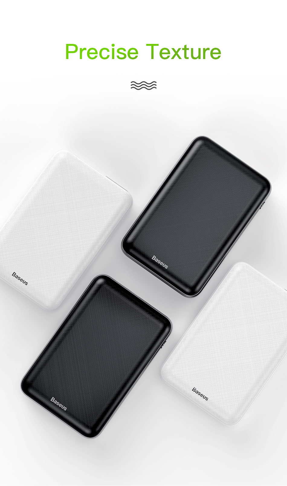 baseus m25p 10000mah mini power bank