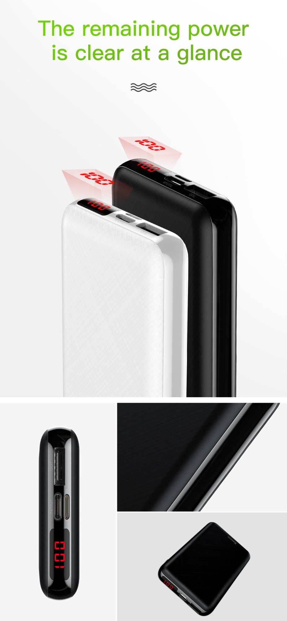 2019 baseus m25p 10000mah power bank