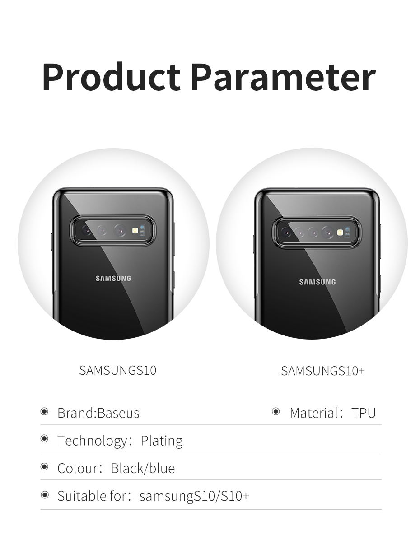 buy baseus luxury phone case for samsung s10