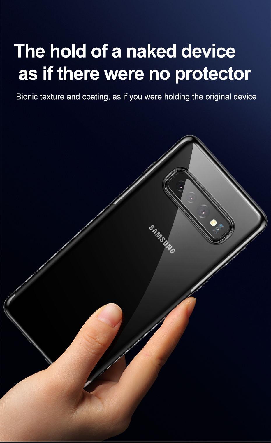2019 baseus phone case for samsung s10 s10 plus