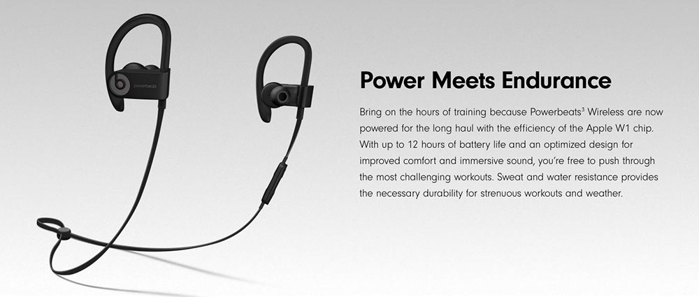 beats powerbeats 3 wireless earphones